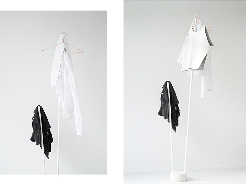 love aesthetics diy minimalist coat rack0