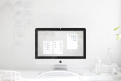GET DIGITALLY ORGANIZED / WALLPAPER