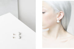 ACCESSORIES / DIOR MARBLE TRIBAL EARRINGS