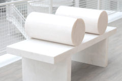Public Marble Benches by Fortuyn/O'Brien