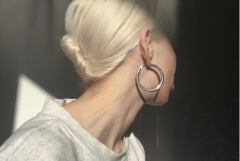 Discussing The Standard Silver Hoop Earring